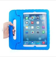 apple ipad cases and skins - New EVA Foam innoxious material Children Kids Shockproof Protection Protective Case Cover for iPad and iPAD AIR Portable case cute