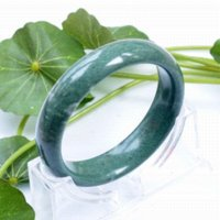 Wholesale High Quality Jade Bangles grade A Pure Natural Jade Bangle Bracelet Natural Stone Womens Bangles For women
