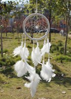 africa decoration - Dream Catcher Circular With feathers Wall Hanging Decoration Decor Ornament Gift