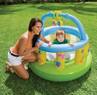 Wholesale Hot Sale Crib inflatable thickening baby toddler bed guardrail child Baby Playpens fence toy gift