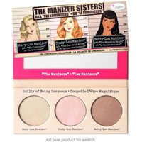 the balm cosmetics - 2016 The Manizer Sisters Cindy lou Mary Lou Betty Lou Color Pressed Face Bronzer Powder Hot Brand Balm Cosmetic Makeup Highlight Shimmer
