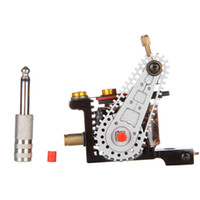 automatic wire machines - Automatic Tattoo Machine Liner Shader A4 Iron Wire cutting Tattoo Machine New Quality