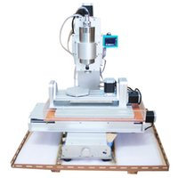 Wholesale 2016 newest CNC Router Axis CNC Machine KW Drilling Milling Machine Engraver Machine High Precision Ball Screw Table Column Type