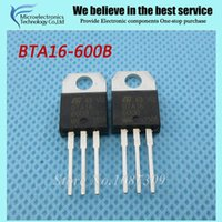 Wholesale BTA16 B BTA16 BTA16 Triacs Amp Volt TO new original