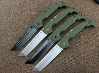 big folding knife - 10 types Newest Cold Steel KNIVES XL SIZE VOYAGER series Big folding knife utility survival knifes hunting tactical outdoor camping tool
