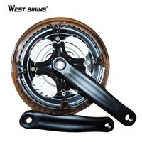 Wholesale Bicycle Chain Wheel Aluminum Alloy T Bike Crank mm Fit Spend MTB Bike Cycling Bicycle Crank Chainwheel Suit