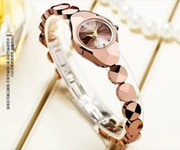 tungsten bracelet - Fashion Female Tungsten Steel Watches Ladies Bracelet Watches Quartz Watch Wristwatch