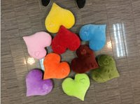 Wholesale 50PCS Hot Sell emoji Heart pillows Cute LOVE QQ pillows colors valentine s day gift