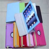 Wholesale 360 Degree Rotation smart Stand PU Leather Tablet PC Screens Case Cover For Apple for iPad iPad mini Hotsale