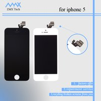 Cheap High quality LCD Display Touch Digitizer Complete Screen with Frame Full Assembly Replacement for iPhone 5