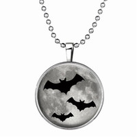 bat jewellery - Pc Halloween Bat Light Necklaces Best Sellers Animal Pendant Necklaces Chain Halloween Jewellery Custom For Kids