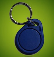 barcode access - 20PCS EM4100 K RFID Access ID Card Key Chain Keyfob Tag Read Only