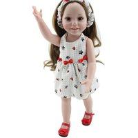 age design resin - 2016 New Design Children Educational Toys Age Best Gift Full Vinyl Fashion Princess Girl Super Realistic Reborn Baby Doll