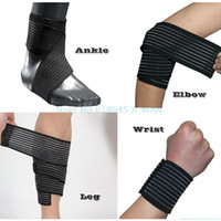 Wholesale 2Pcs Multifunction Sport Ankle Support Boxing Tobilleras Ankle Brace Bandage Taekwondo Basketball Gym Ankle Support L180
