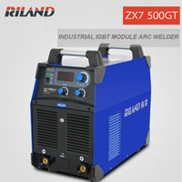Wholesale Riland ARC Welding Machine IGBT Module ARC500 ZX7 GT Whole Sales New Design ARC Welder MMA Welder Direct Factory Sales