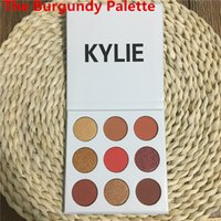 glitter kit - In stock Kylie Jenner Kyshadow The Burgundy Palette Eyeshadow Makeup Eye Shadow Lip Kit ABHPIgment Glow Kit