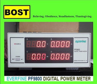 Wholesale EVERFINE PF Digital Power Meter Intelligent Electric Measuring Instrument PF9800 Power Meters displays V A W PF V mA A