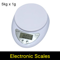 Wholesale Digital Scale KG G Postal Kitchen Cooking Food Diet Grams OZ LB g LED Electronic Bench Scale Weight