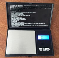 Wholesale 10pcs High precision Digital Scale g g Portable Electronic Jewelry Weight Weighting Diamond Pocket Scales