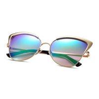 american optical glasses - American Optical Sunglasses for Woman UV400 YJMH028 Gold Frame Cat Eye Glasses
