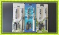 Cheap Colofrful Ego CE4 Blister kits 2pcs CE4 Atomizers 650mah 900mah 1100mah ego-t battery VS CE3 Kit Topbox mini Evod mini protank Kit