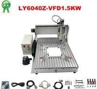 Wholesale Assembled CNC cutting machine Z VFD with W VFD CNC router milling lathe