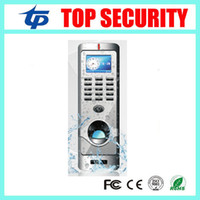 Wholesale IP64 waterproof fingerprint access control system TCP IP color screen biometric door access controller with RFID card reader