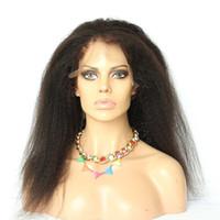 Wholesale 360 Full Lace Band Frontal Closure Kinky Straight Brazilian Virgin Hair a Human Hair Lace Frontals Brazilian Yaki Straight Lace Closure