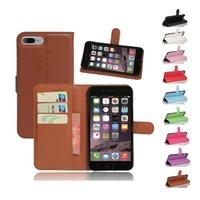 La cubierta de cuero de moda del teléfono celular tapa 1: 1 para el iPhone 7 Plus de 5.5