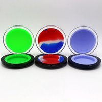 Wholesale 6ml Silicone Cosmetic Container Jar New Design Silicone Container For Wax Oil Assorted Color