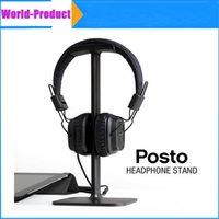 Wholesale 2016 Headphones Stand Gaming headset display Headset Holer Earphone Display Rack with black white