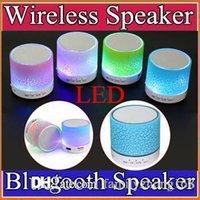 Haut-parleurs Mini Bluetooth portables A9 New LED Haut-parleur sans fil avec ampoule Smart Support TF carte USB pour IPhone Samsung Xiaomi MP3 L-YX
