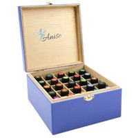 anise oil - Wooden Essential Oil Box For Bottles Of ml By Anise Storage Container Small Enough For Travel and Presentations