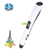 Wholesale 3D Printing Pen D Pen NEW F20 Best Children DIY Gift D Magic Pen D Printer Kids Drawing Pen mm ABS PLA