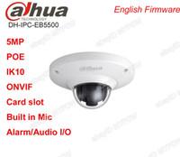 Wholesale Dahua IPC EB5500 MP Built in Mic Vandal proof Fisheye IR IP Camera mm POE