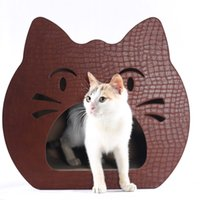 Wholesale Light green cat toy cat corrugated board furniture