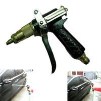 Wholesale Car pressure Washer Spray Gun High Pressure Copper Metal Cleaner Spray Nozzle Garden House Washing Machine Washing Car Washer
