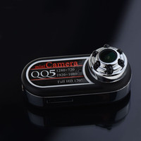 Wholesale New QQ5 Mini DV Camera Full HD P IR Night Vision DV Camcorder MP Wide Angle Motion Detection VCZ74 T20