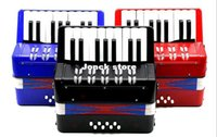 Wholesale 8 bass Accordion key child accordion color keyboard musical instrument toys category