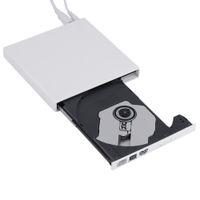 Wholesale 2016 Newest black USB External CD RW DVD RW DVD RAM Burner Drive Writer For Laptop PC