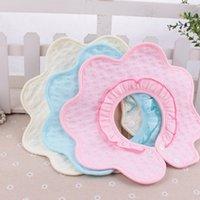 baby newborn set manufacturers - 2pcs set Baby Bibs Manufacturers Selling Cotton Towel Baby Bib Newborn Slobber Creative Flower Towel Handkerchief Baby Bib