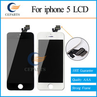 Wholesale For Apple iPhone Display Screen LCD Assembly With Original Digitizer Glass No Dead Pixel AAA Quality Fast DHL Shipping