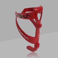 Wholesale Top end Cages Aluminum Carbon Fiber Bicycle Bottle Water Cage Road Bike Bottle Holder Red COLORFUL