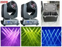 Wholesale flightcase Beam R Beam Moving Head Light Beam W Osram LED Channels big Touch screen Stage Lighting Disco