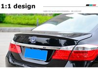 accord rear spoiler - fit for HONDA ACCORD baking varnish stove varnish Spoiler spoiler Wing rear wing different colors