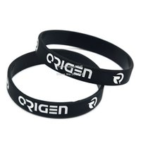 Wholesale 1PC Team Solomid SKT T1 Origen and Fnatic Silicone Wristband Bracelet Adult Size