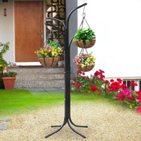 Wholesale Tree Hanging Garden Flower Pot Stand Planters Deck Patio Yard System