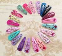 bb clips - Hot Mixture Baby BB Toddler Hair Clips Bows Barrettes Children hairpin Mix Color Mix Type