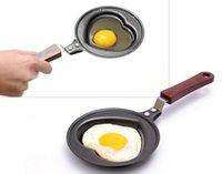 Wholesale breakfast omelette pan kt love smiley omelette device frying pan pancake pan