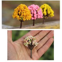 Wholesale 3pcs Miniature Tree Plants Fairy Garden Accessories Dollhouse Ornament Decor